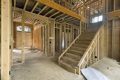Popular design options such as an open floor plan and high vaulted
