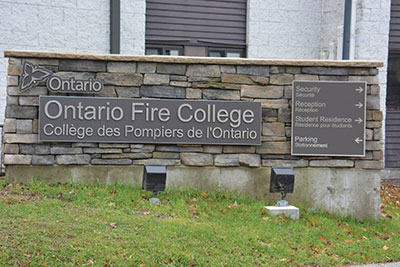 ont fire college