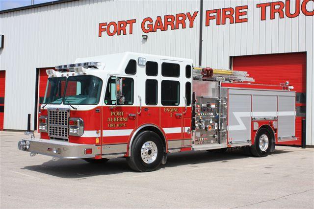 The Port Alberni Fire Department Fire Fighting In Canada