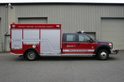 The Yellowhead County Fire Department Fire Fighting In