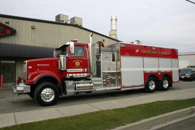Grasslands Fire Rescue Fire Fighting In Canada