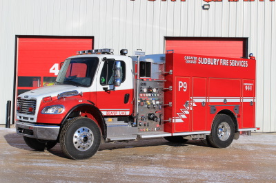 Greater Sudbury Fire Services Fire Fighting In Canada