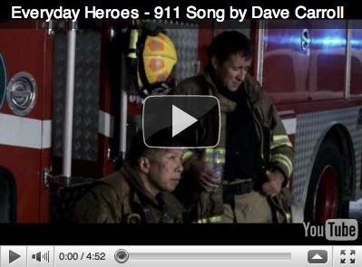 Dave Carroll releases Everyday Heroes at CAFC - www