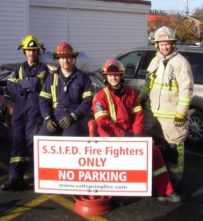 Salt Spring Island Fire Chief