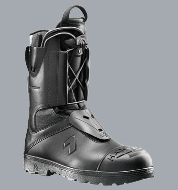 Haix boot offers protection and comfort